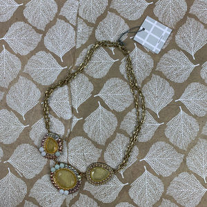 Tinley Road Necklace Gold Chunky